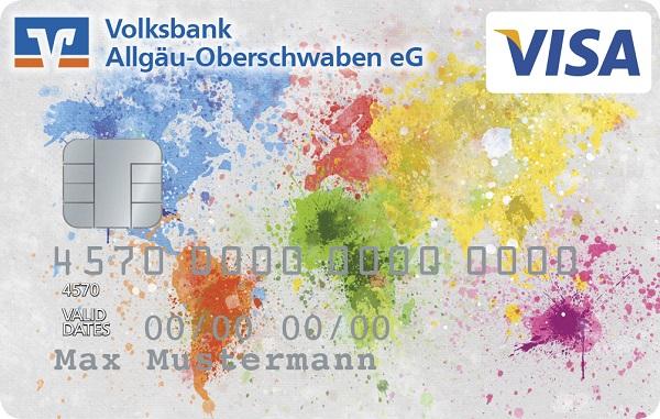 "VBAO-MEINKonto FreeCard (Kreditkarte) - ""Bunte Welt"""