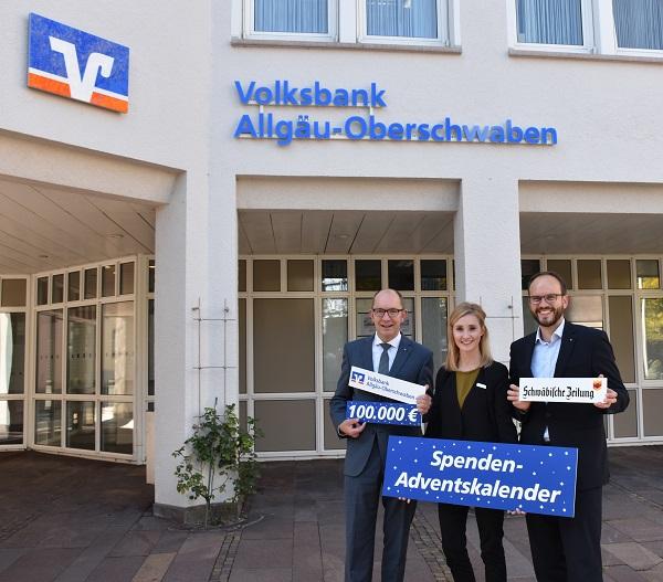 SpendenAdventskalender 2017 in Kooperation mit der Schwäbischen Zeitung